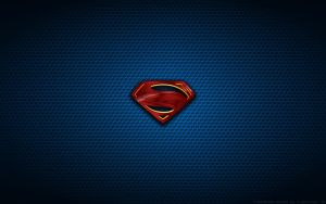 Wallpaper - Man Of Steel 'Movie Poster' Logo by Kalangozilla
