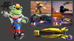 Slippy Toad Super Smash Bros. Moveset by Hyrule64