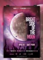 Bright Side Indie Event Poster by cleanstroke