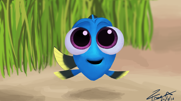 Baby Dory :D by franciscoo03