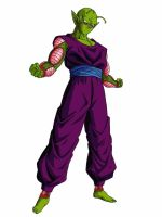 Barefoot Embarrassed Piccolo Jr. by delvallejoel
