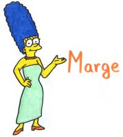 Marge Simpson by YouCanDrawIt