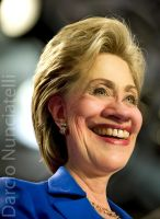Caricature Hillary Clinton by dnunciate
