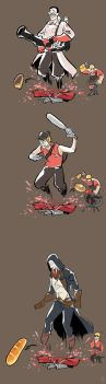 TEAM FORTRESS2 by lotushim554