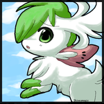 First Sky Shaymin Attempt by Shineymagic