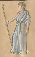 athena by MrHarp
