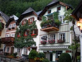 Some other Hallstatt houses by LunaticDesire