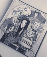 The Addams Family ... by giadina96