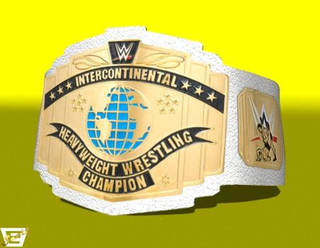 WWE Intercontinental Title by ImfamousE