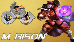 M.Bison in DCCapMar Mugen Game by anubis55