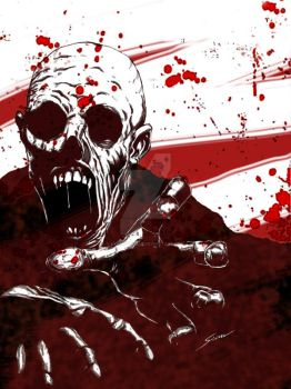 Zombie Death Stench II by fromthedead