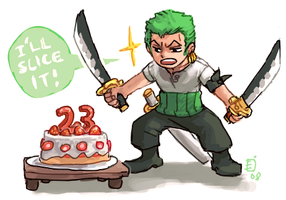 Zoro slice by emlan