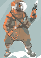 Cosmonaut by Allan-P