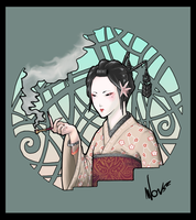 Geisha Tatoo by Wonszlol