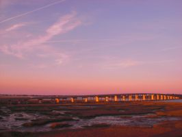 Sunset Over St. Augustine by ErinM2000
