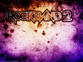 Rock Band 2 Wallpaper by RedAndWhiteDesigns