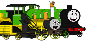 Two Old Engines named Stephen by Percyfan94