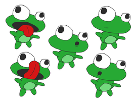 Twisted Frog Creations rough color sketches by armageddon