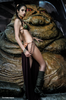 Leia And Jabba 43 by Darthsandr