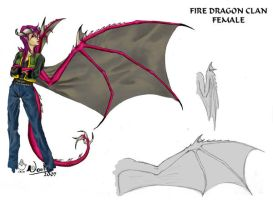 Firedragon Clan - female by noot