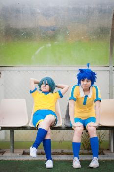 I11GO: Benchwarmers by churian