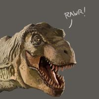 Mr. Tyrannosaur by FonteArt