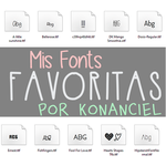 Favoritas by KonanCiel