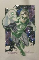 Green Lantern Phoenix Con commission by BroHawk