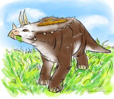Cows of the Cretaceous by BGArts