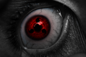 Sharingan Eye by WHU-Dan