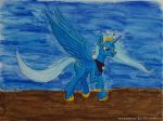 Princess Trixie The Great And Powerful [Acrylic] by Hector-LLG