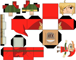 link A Link Between Worlds red tunic by hollowkingking