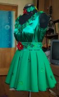 Original Poison Ivy  cosplay dress1 by SweetSaurona