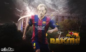wallpaper ivan rakitic 2014 by Designer-Abdalrahman