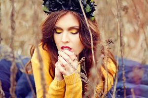 Autumn's last breath by Mijagiphotography