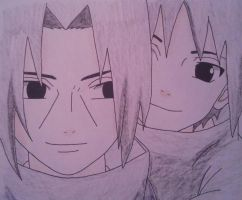Young Itachi and Sasuke {2} by Britney151