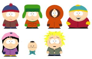 South Park - A few characters by Endless-Mittens