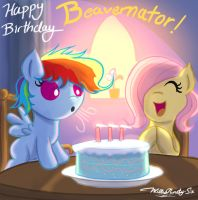 Happy Birthday Beavernator! by WillisNinety-Six