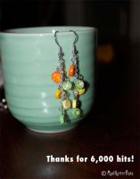 Fruit Salad Earrings by MadHatterBata