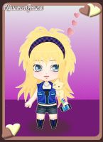 For Kendra711: Chibi Lewellyn by SupernovaSword