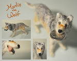 Merlin the Timber Wolf by pahein