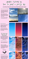 Nimble's Tutorial on How to Paint a Pretty Sky by hanNimble