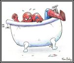 Spider in the Bath by Ferntree