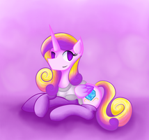 Princess Cadence in PJs and Socks by Wendy-the-Creeper