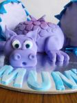 Mother's Day: Baby Dragon Cake by cakecrumbs