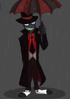 Black Hat ( Villainous ) by chuchy07