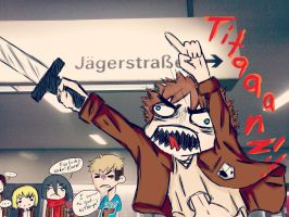Attack on TIIIIITAAAANZZZZZ! by HeartoShooter