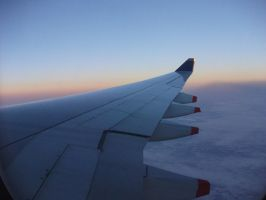 While I was flying to Autralia by BlueRoseAngel15