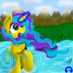 Star Art -water control by GABY54232