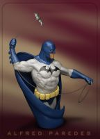 Batman 3.0 Comic Con Card by AlfredParedes
